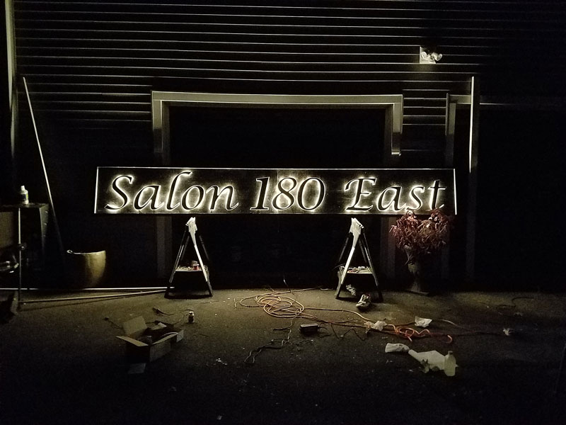 Lighted Signs Customers With Bright Ideas Woodland Articles