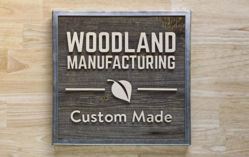 Custom Sign Makers - Why We Love Our Work | Woodland Articles