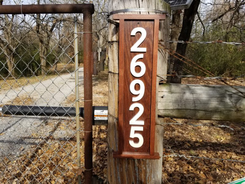 Custom Signs and Address Numbers for Apartments and ...