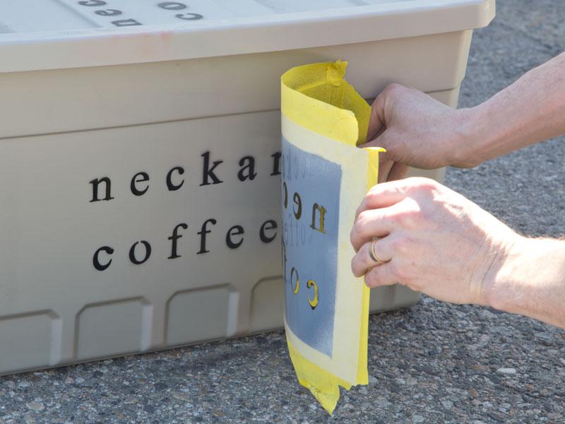Remove Stencil | Woodland Articles