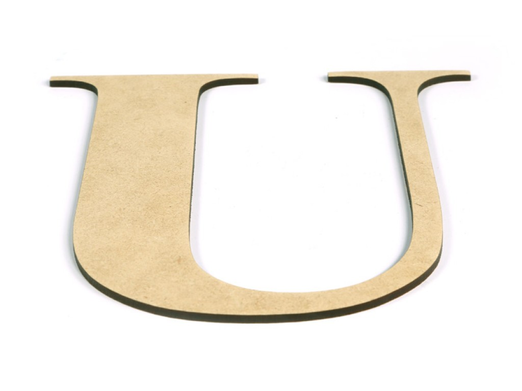 mdf wood letters