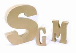 How to spray paint wood letters custom unfinished for Standing wood letters to paint