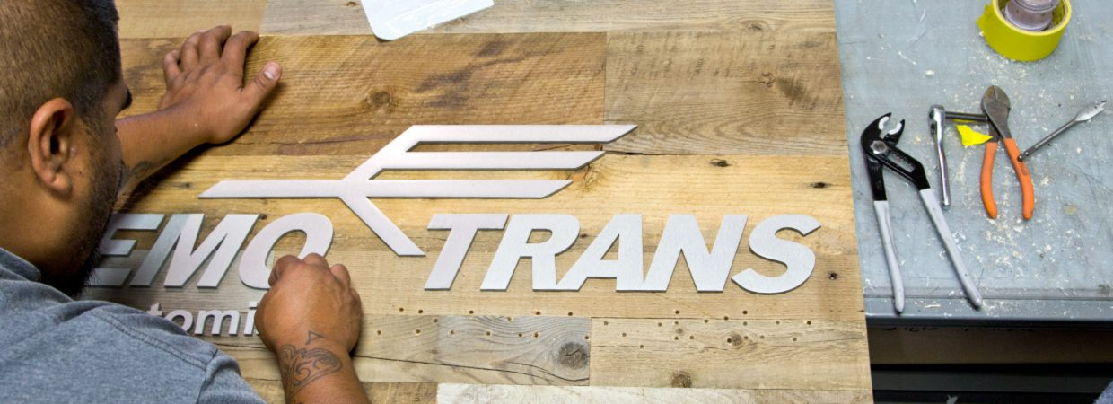 custom signs design sign letters logos woodland manufacturing